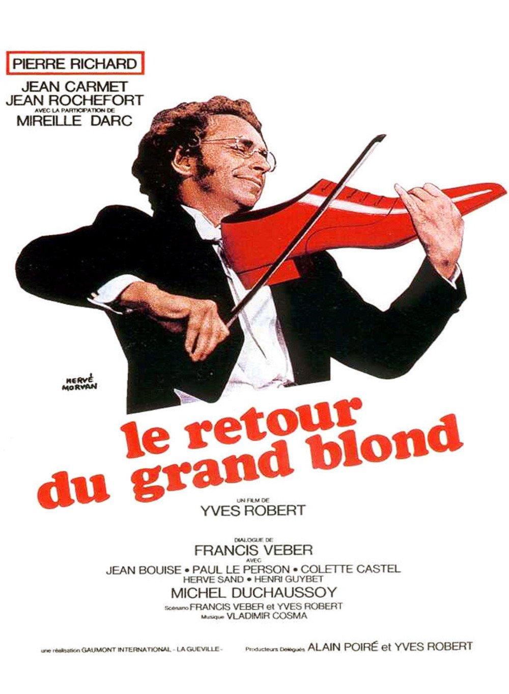 affiche du film Le Retour du grand blond