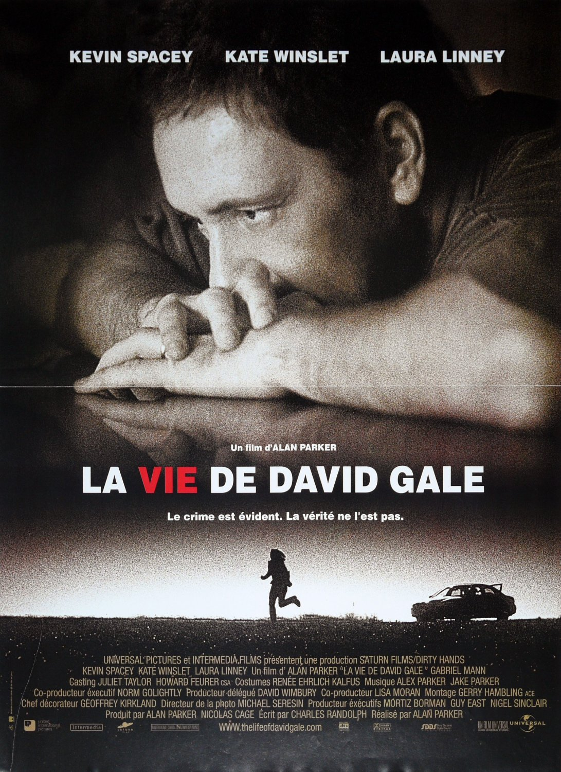 affiche du film La vie de David Gale