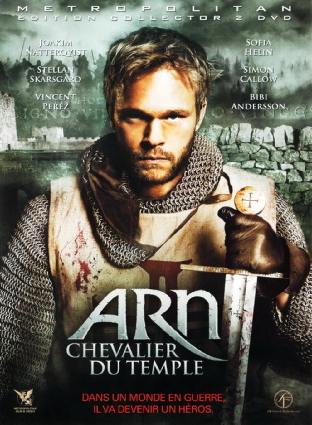 affiche du film Arn, le chevalier du temple