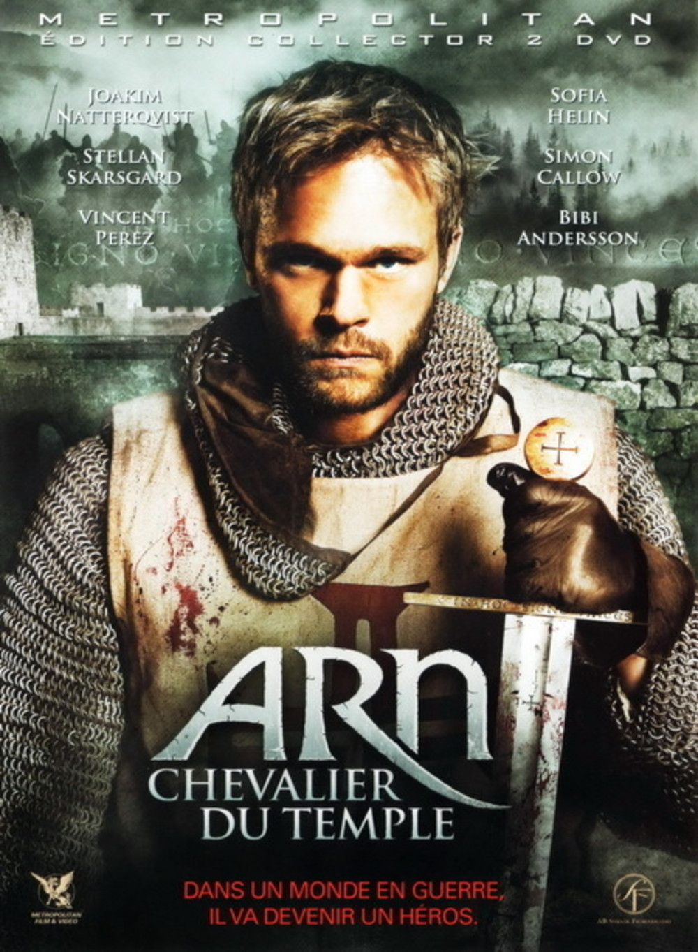 affiche du film Arn, chevalier du temple