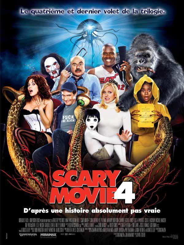 affiche du film Scary Movie 4