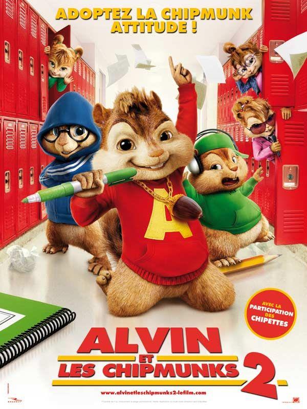 affiche du film Alvin et les Chipmunks 2