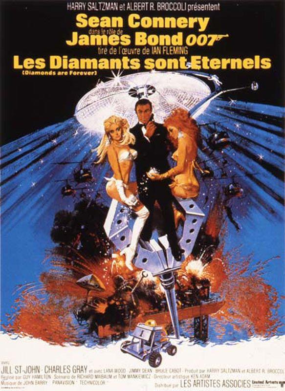 affiche du film Les Diamants sont éternels