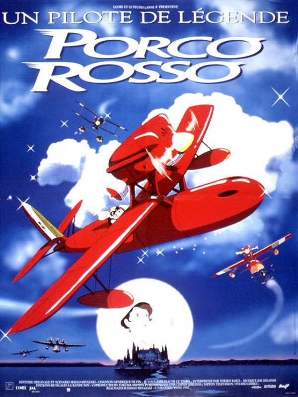 affiche du film Porco Rosso