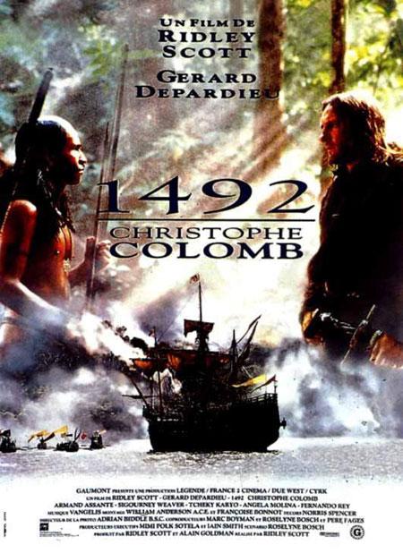 affiche du film 1492 : Christophe Colomb