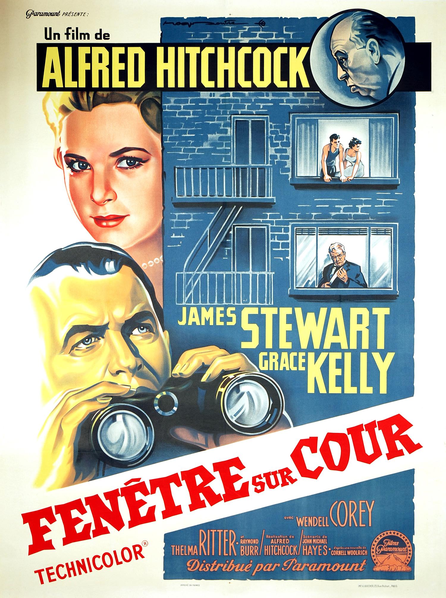 affiche du film Fenêtre sur cour (1954)