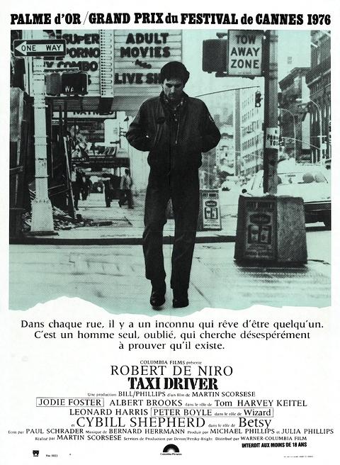 affiche du film Taxi Driver