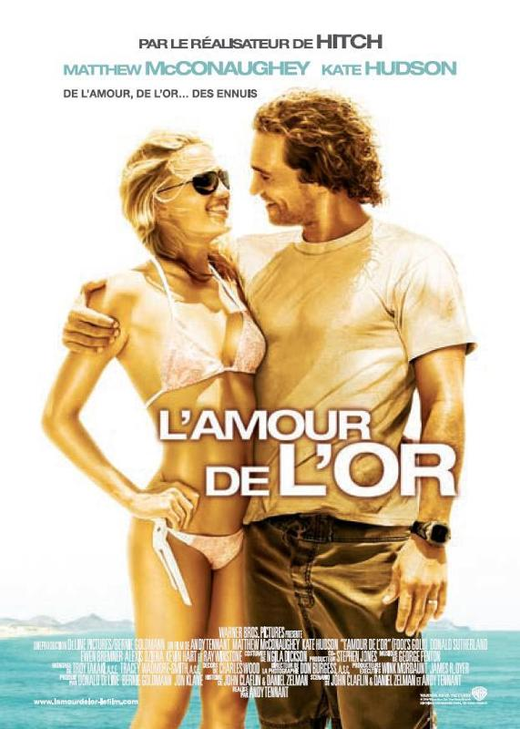 affiche du film L'amour de l'or