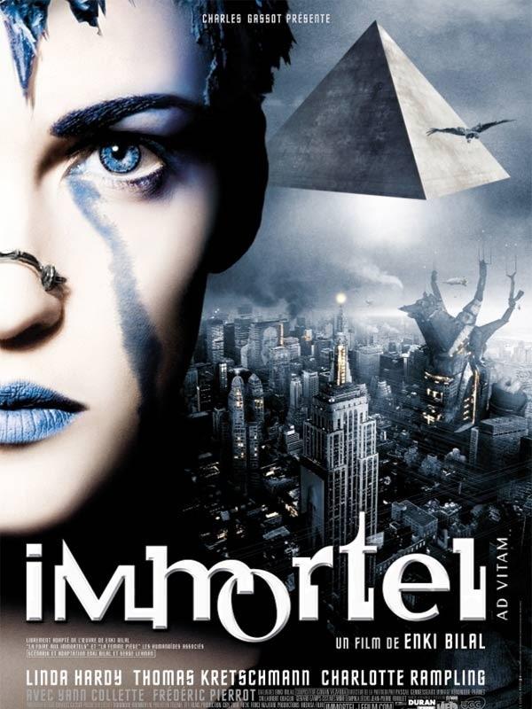 affiche du film Immortel (ad vitam)