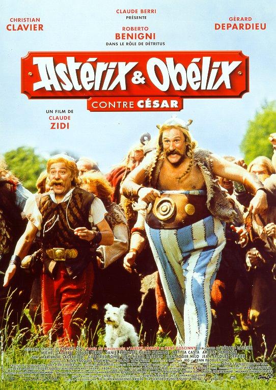 affiche du film Astérix & Obélix contre César