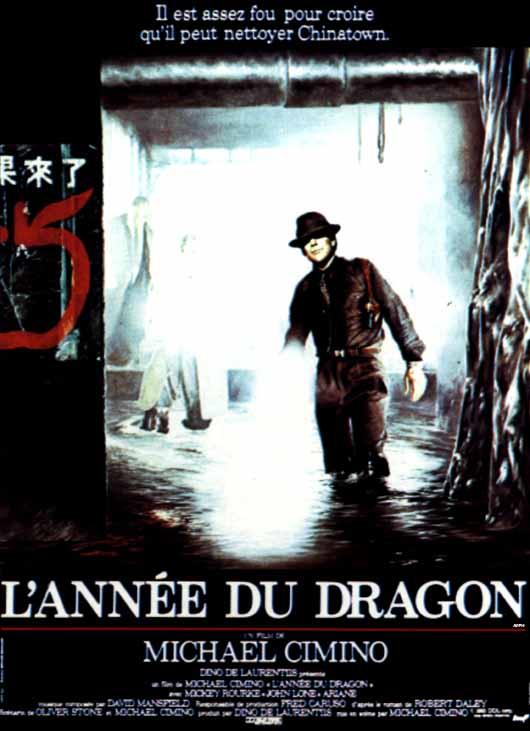 affiche du film L'année du dragon