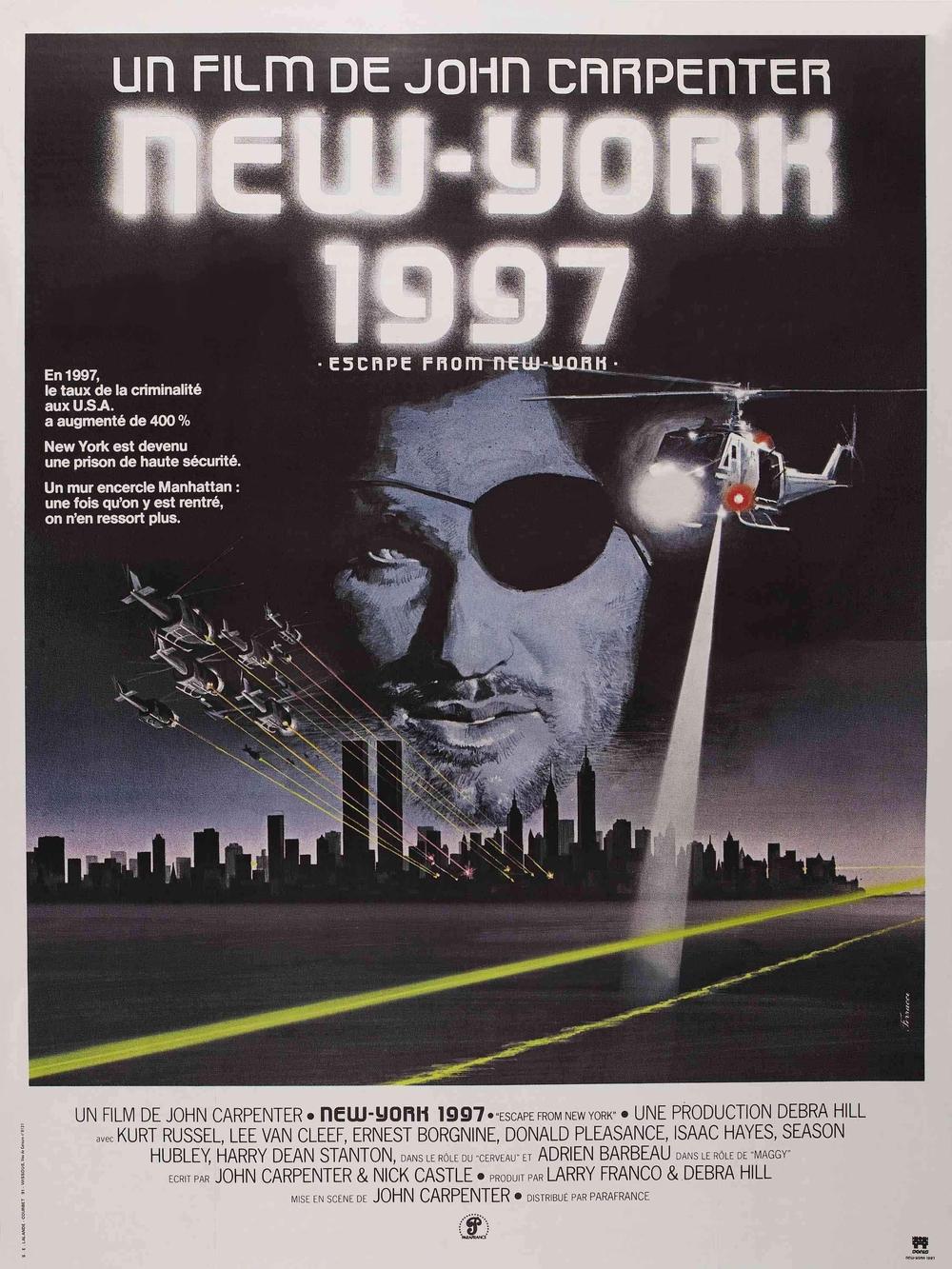 affiche du film New York 1997
