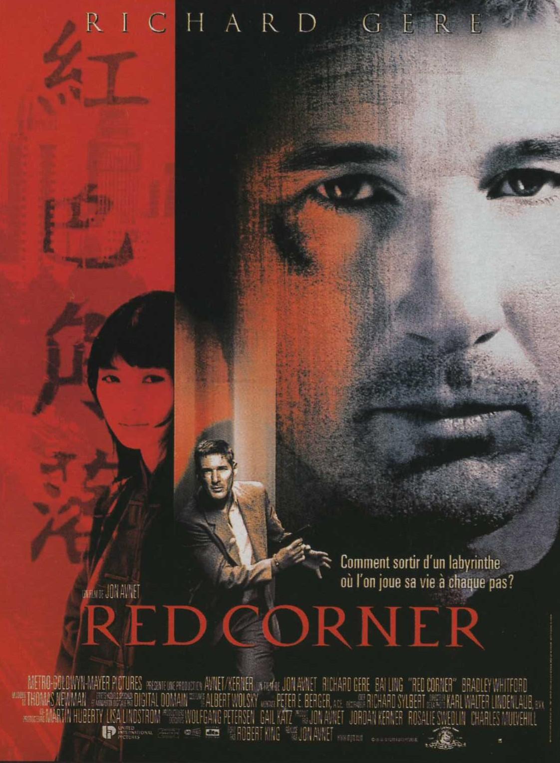 affiche du film Red Corner