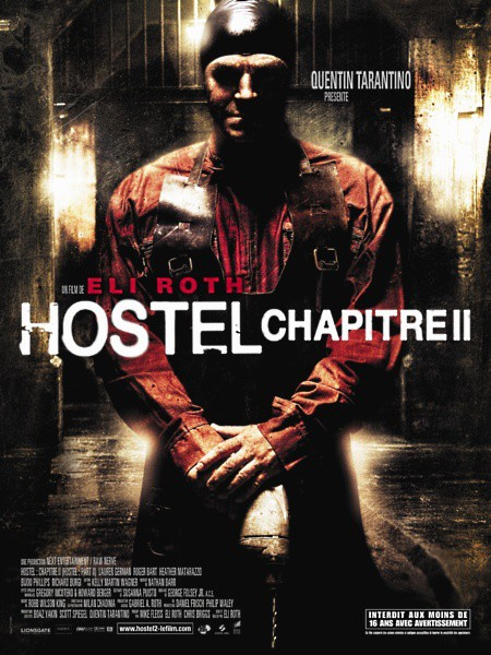 affiche du film Hostel : chapitre II