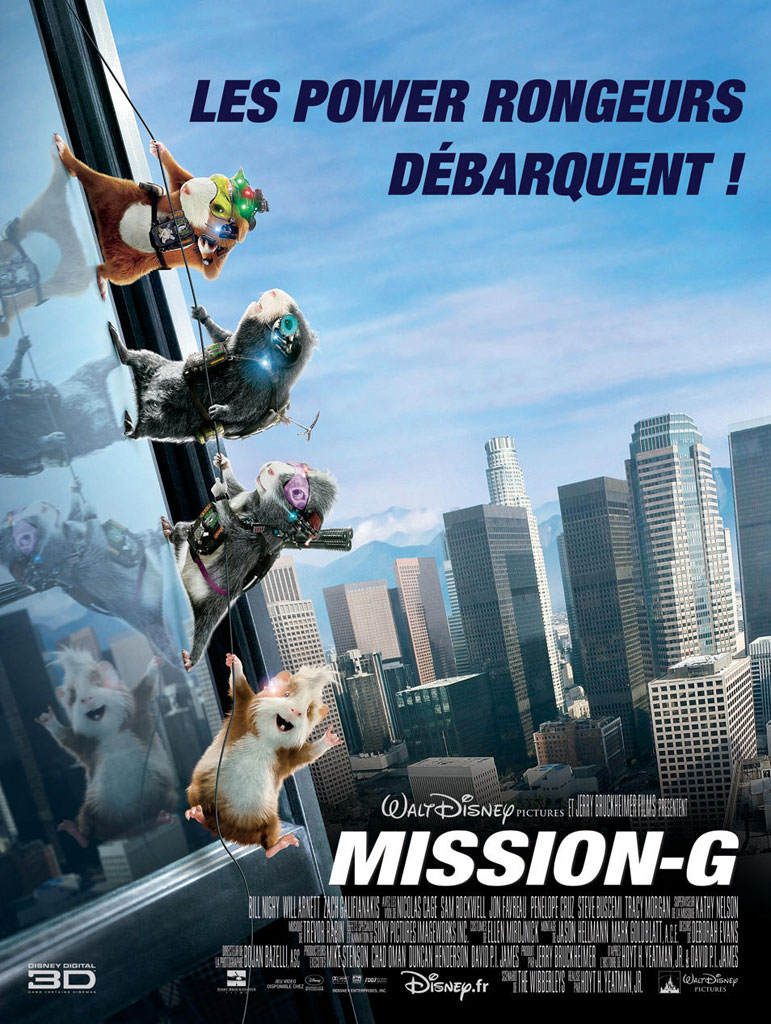 affiche du film Mission-G