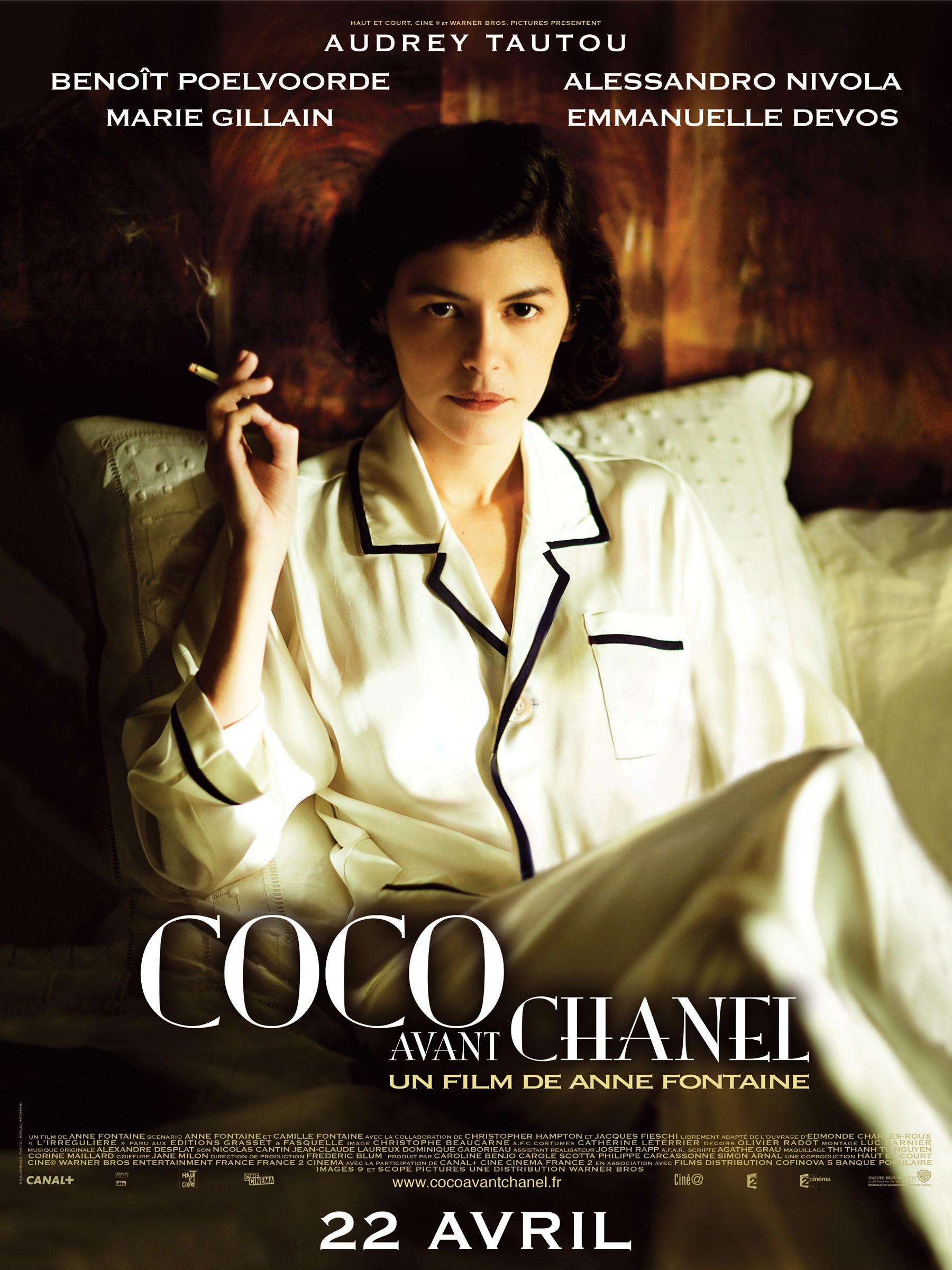 affiche du film Coco avant Chanel