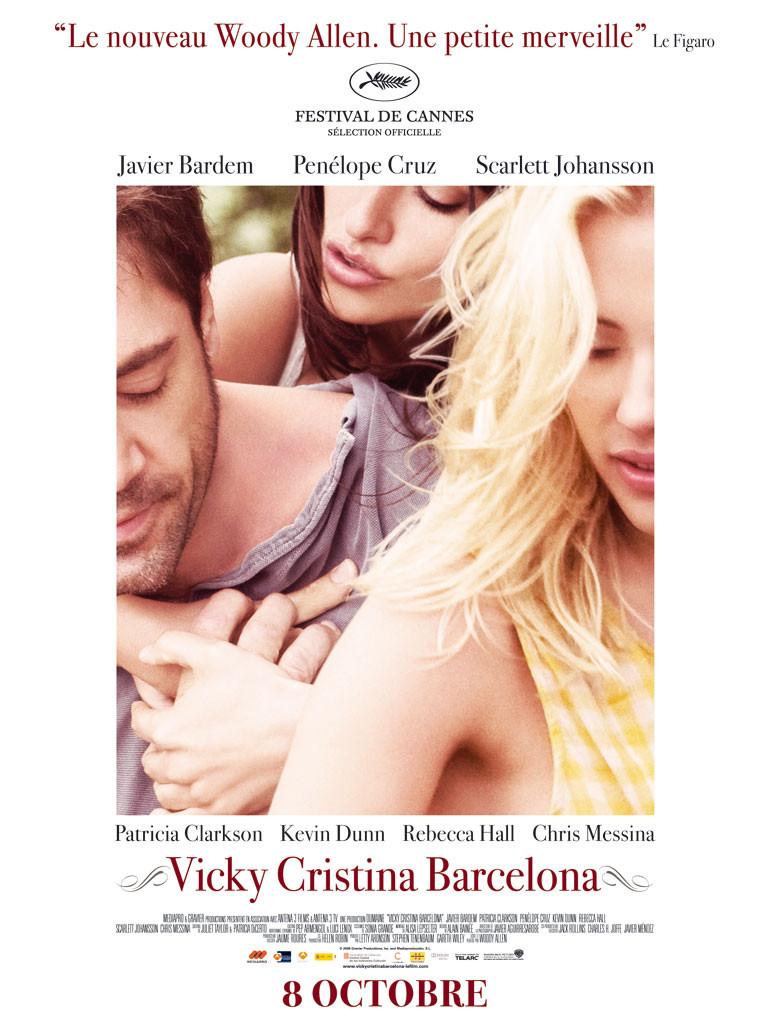 affiche du film Vicky Cristina Barcelona
