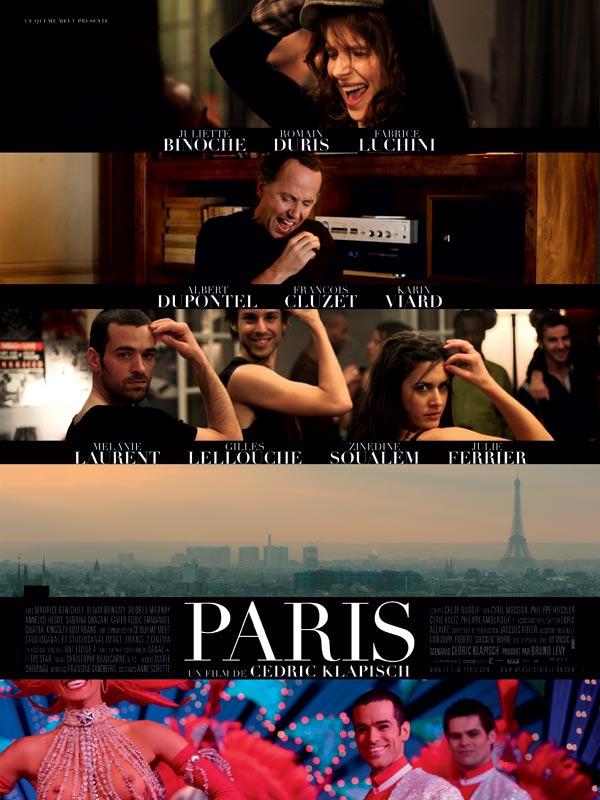 affiche du film Paris (2008)