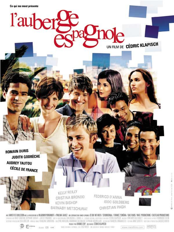 affiche du film L'Auberge espagnole