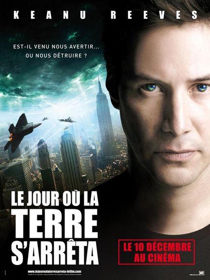 affiche du film Le jour où la Terre s'arrêta (2008)