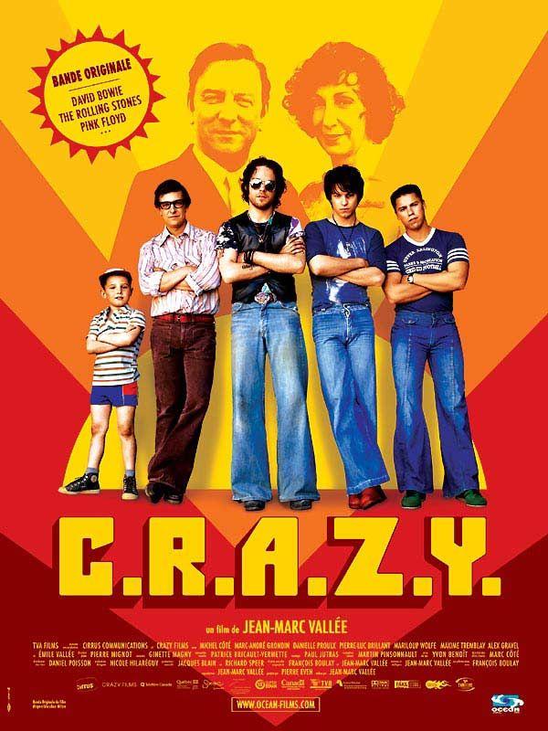affiche du film C.R.A.Z.Y.