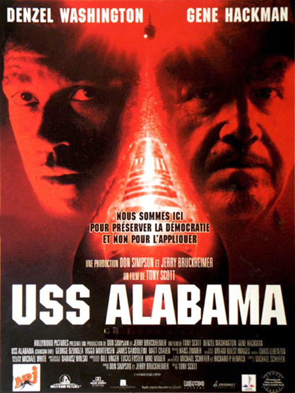 affiche du film USS Alabama