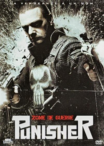 affiche du film The Punisher : Zone de guerre