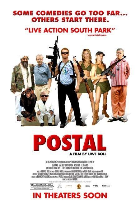 affiche du film Postal