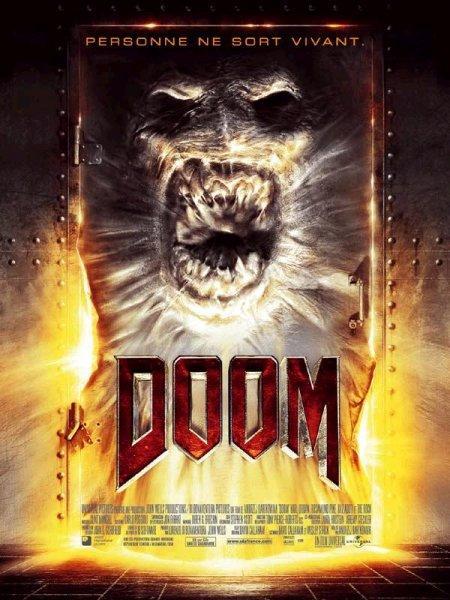 affiche du film Doom