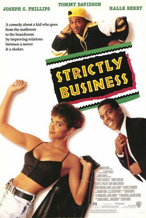 affiche du film Strictly Business