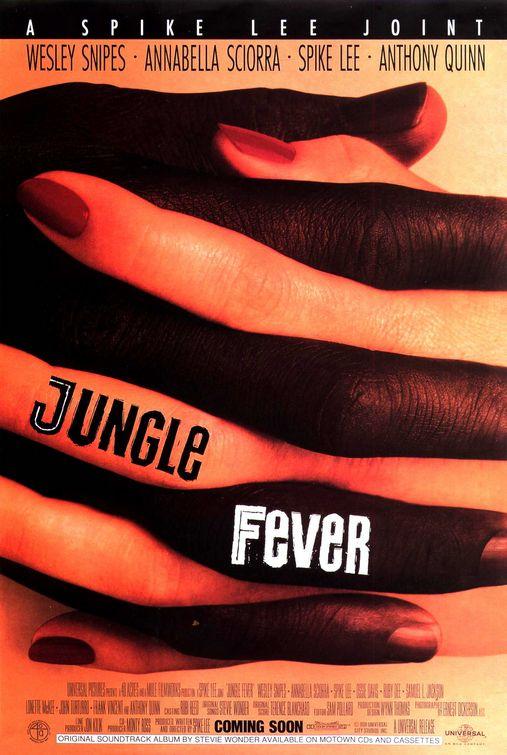 affiche du film Jungle Fever
