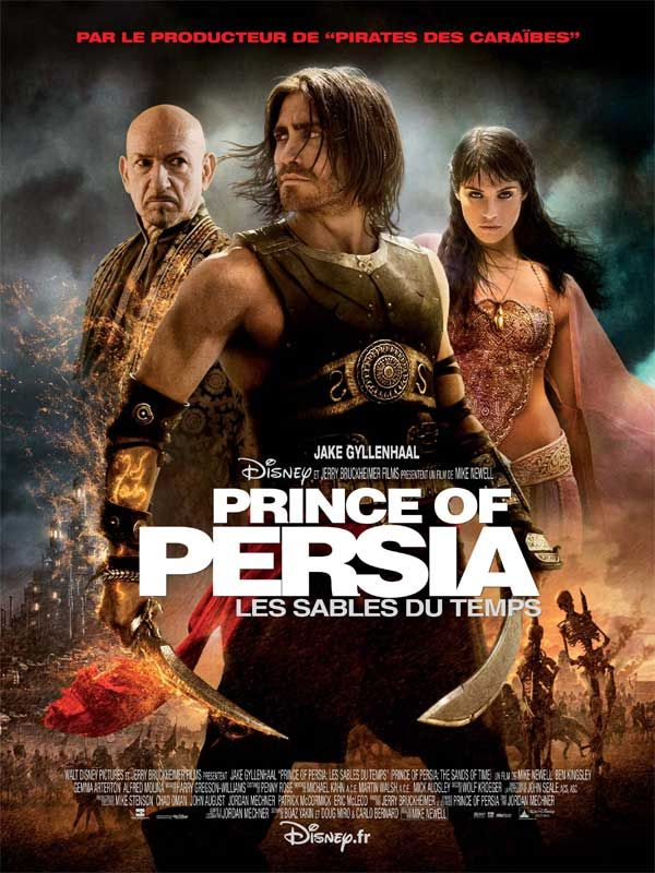 affiche du film Prince of Persia : Les sables du temps