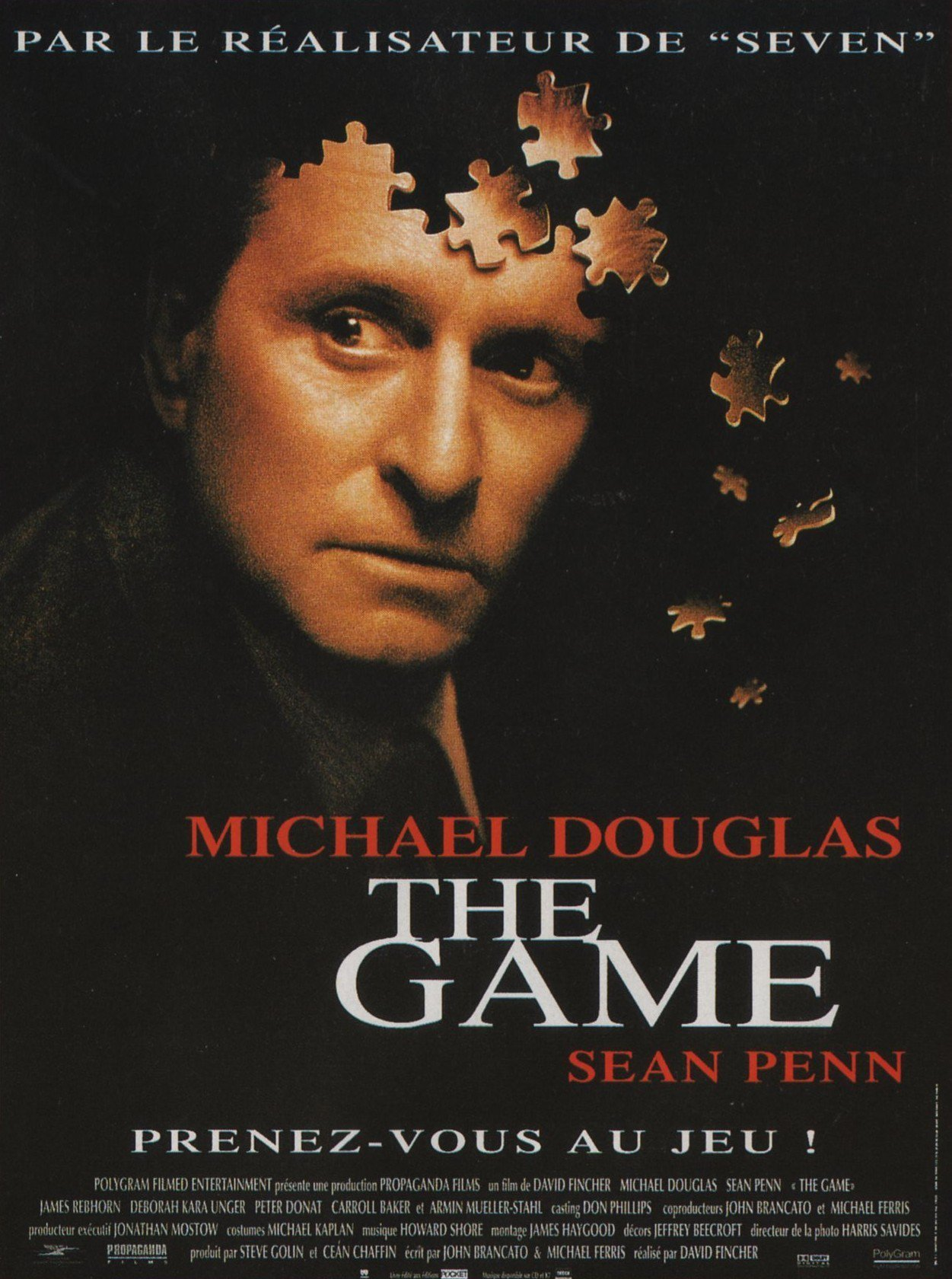 affiche du film The Game