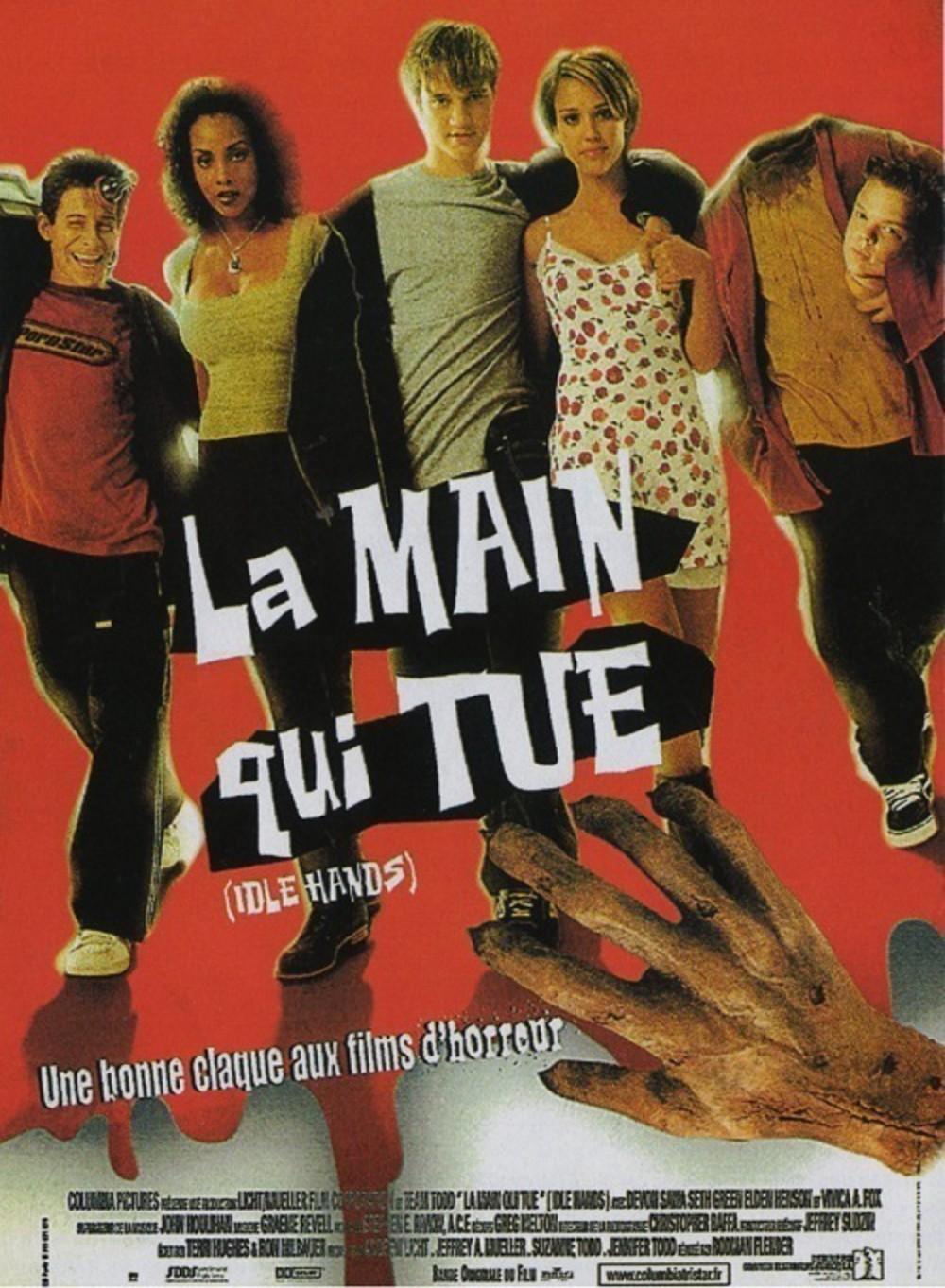 affiche du film La main qui tue