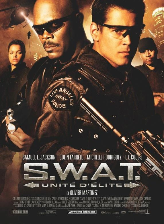 affiche du film S.W.A.T.  unité d'élite