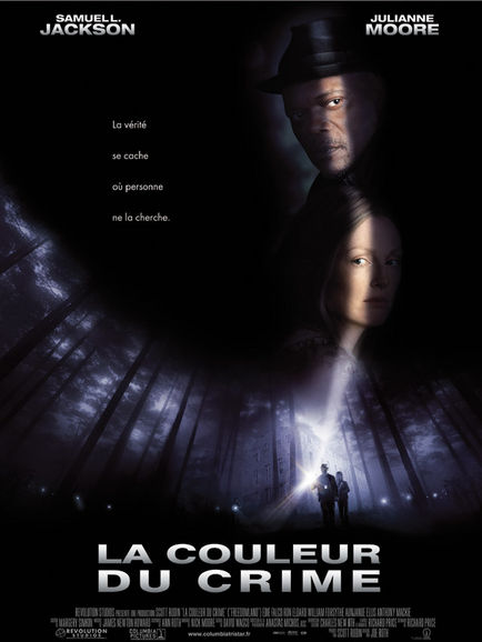 affiche du film La couleur du crime