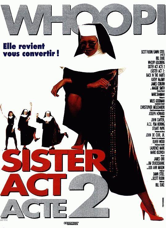 affiche du film Sister Act : acte 2
