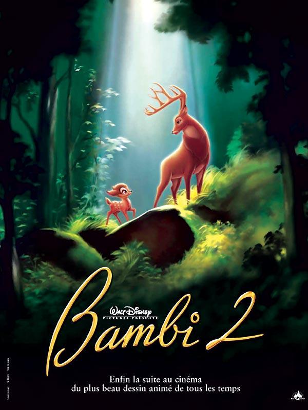 affiche du film Bambi 2 : Le prince de la forêt