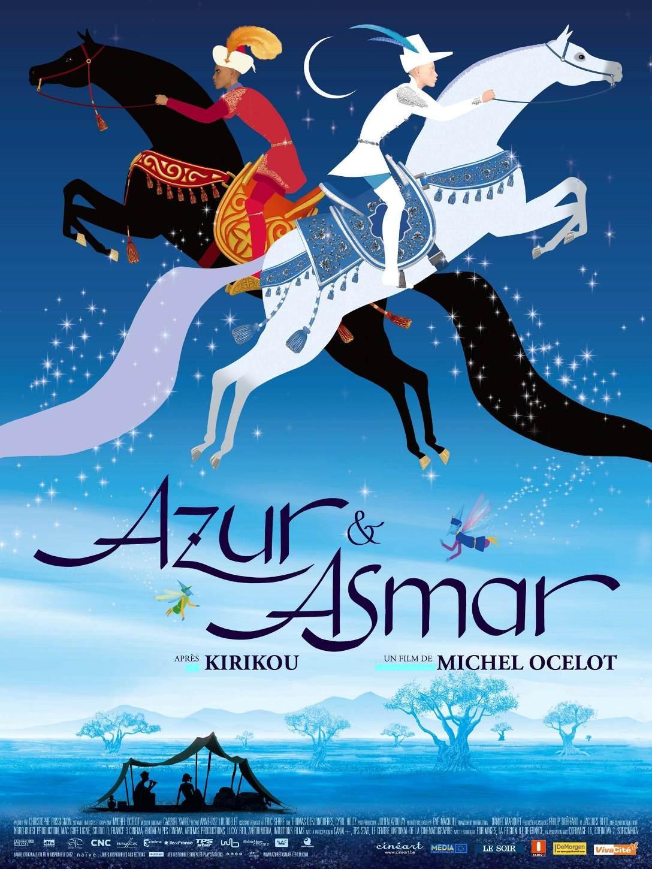 affiche du film Azur et Asmar