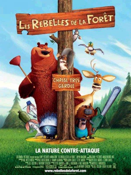 affiche du film Les rebelles de la forêt