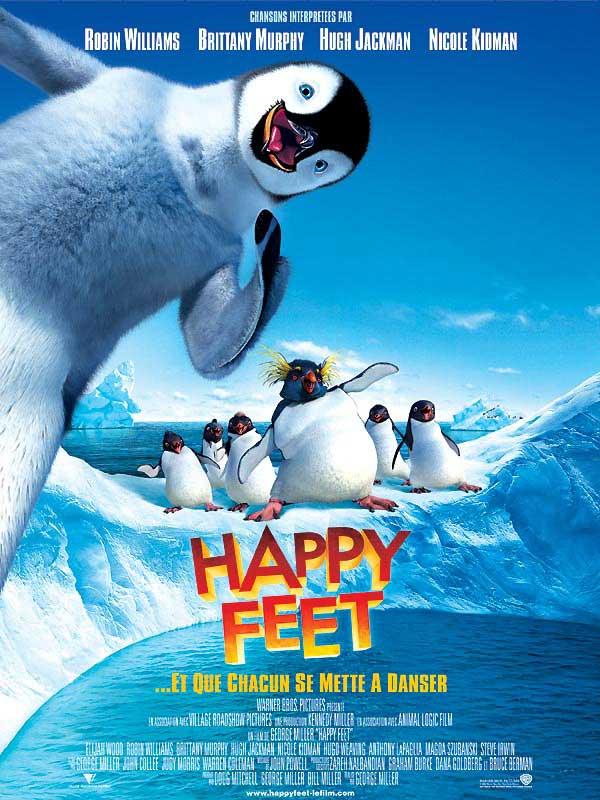 affiche du film Happy Feet