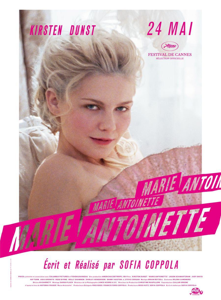 affiche du film Marie Antoinette