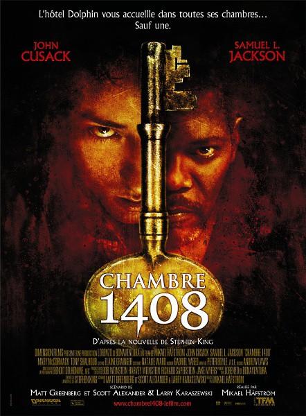 affiche du film Chambre 1408