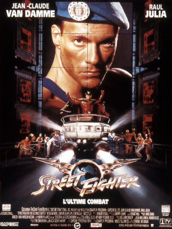 affiche du film Street Fighter : L'ultime combat