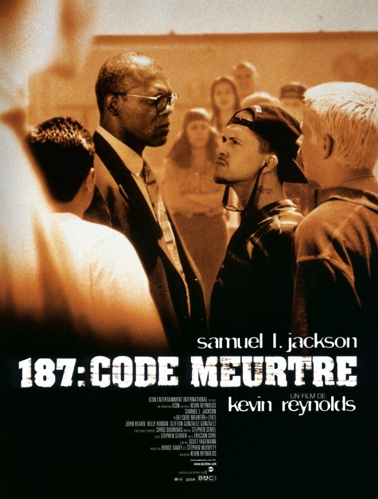 affiche du film 187 : code meurtre