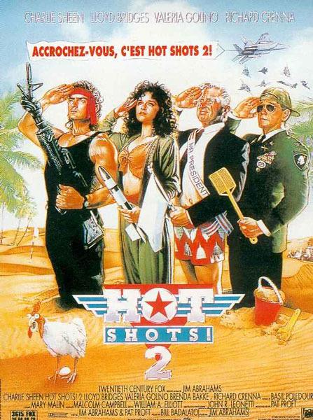 affiche du film Hot Shots ! 2