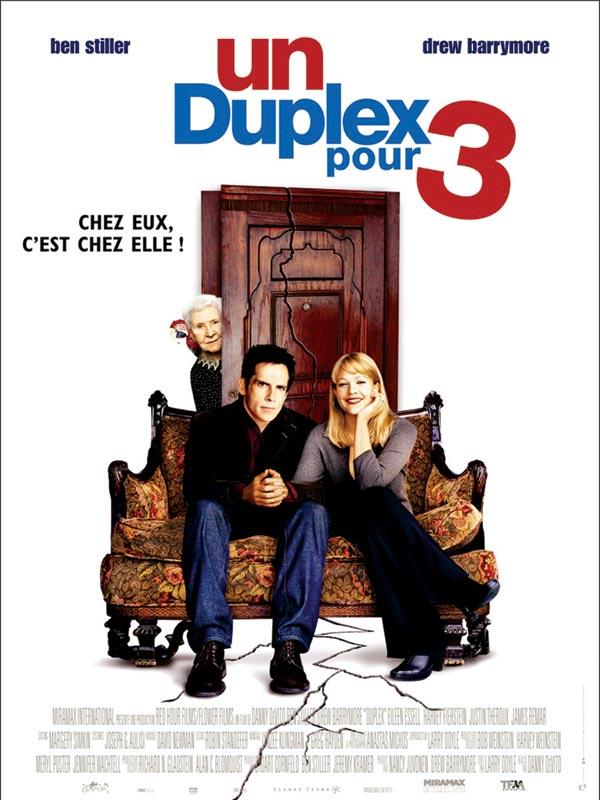 affiche du film Un duplex pour 3