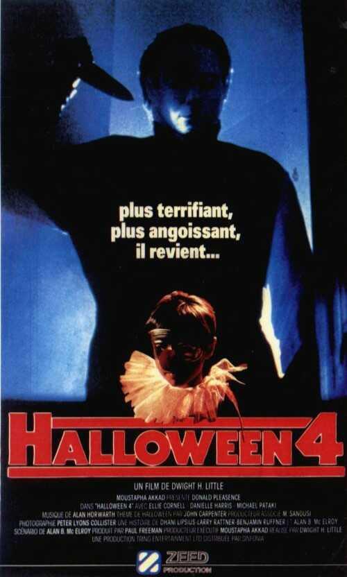 affiche du film Halloween 4