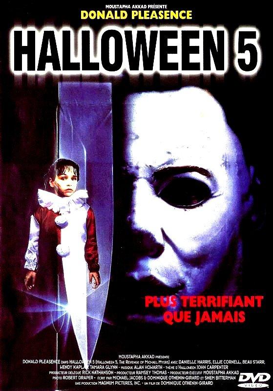affiche du film Halloween 5