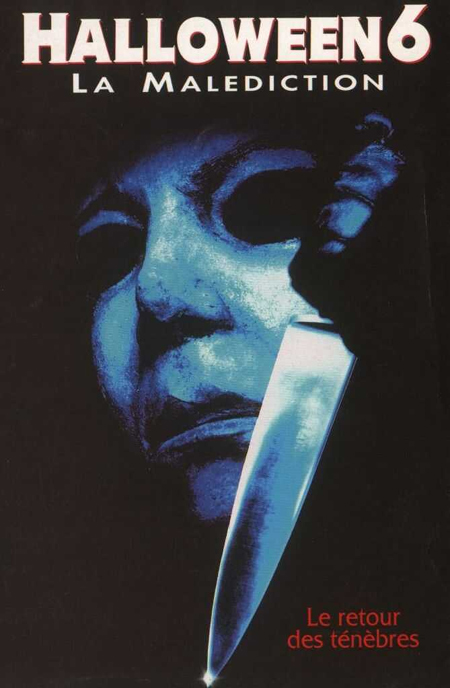 affiche du film Halloween 6 : La malédiction de Michael Myers